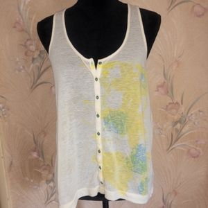 Free People Tank Buttons